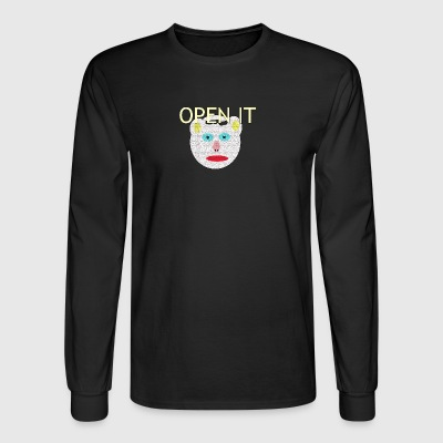 OPEN IT - Men's Long Sleeve T-Shirt