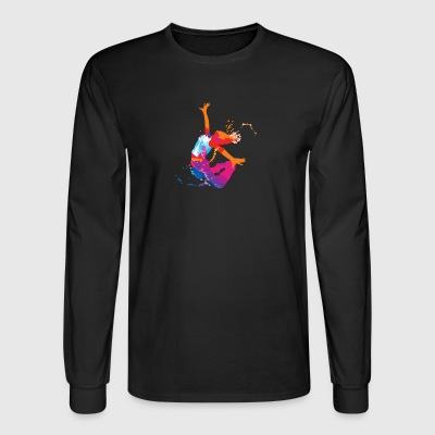 jump - Men's Long Sleeve T-Shirt