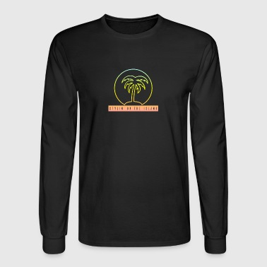 Stylin On The Island PNG - Men's Long Sleeve T-Shirt