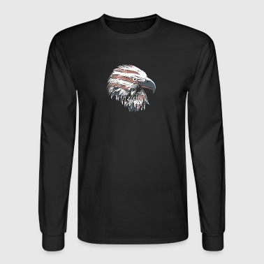 Eagle head - Men's Long Sleeve T-Shirt