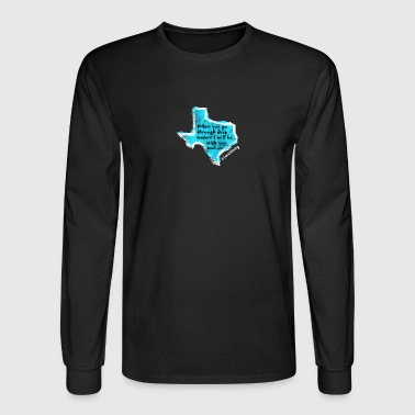 Texas Prayer - Men's Long Sleeve T-Shirt
