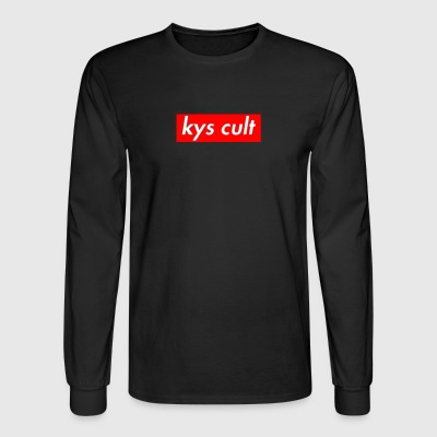 kys cult red - Men's Long Sleeve T-Shirt