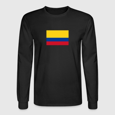 National Flag Of Colombia - Men's Long Sleeve T-Shirt