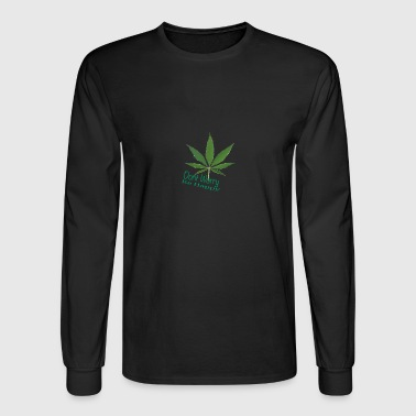 happy weed - Men's Long Sleeve T-Shirt