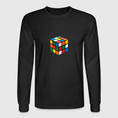 Cube Puzzle - Men's Long Sleeve T-Shirt