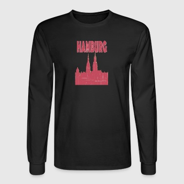 HAMBURG City - Men's Long Sleeve T-Shirt