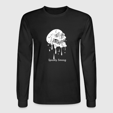spooky smog white - Men's Long Sleeve T-Shirt