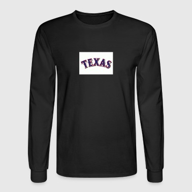 Texas Rangers 1 - Men's Long Sleeve T-Shirt