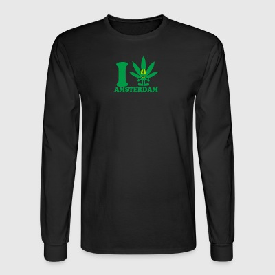 I Love Amsterdam - Men's Long Sleeve T-Shirt