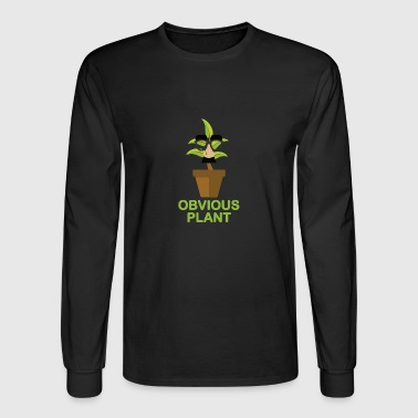 Obvious Plant - Men's Long Sleeve T-Shirt