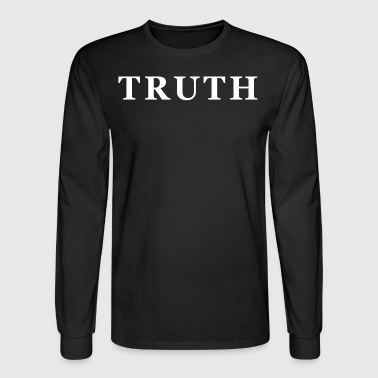 TRUTH WHITE - Men's Long Sleeve T-Shirt
