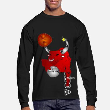 Chicago Basketball Bull - Men's Long Sleeve T-Shirt