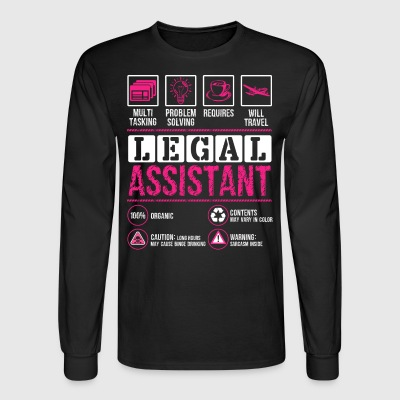 Legal Assistant Shirt - Men's Long Sleeve T-Shirt