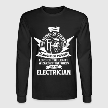 I Am The Keeper Of Currents T Shirt - Men's Long Sleeve T-Shirt