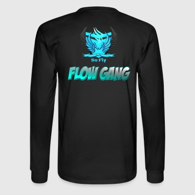 Flow Gang With So Fly Official Logo - Men's Long Sleeve T-Shirt