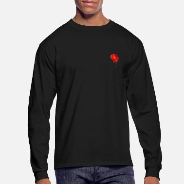 Rose rose - Men's Long Sleeve T-Shirt