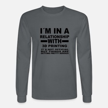 3d relationship with 3D PRINTING - Men's Longsleeve Shirt