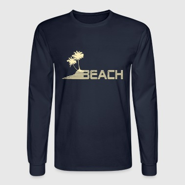 beach - Men's Long Sleeve T-Shirt