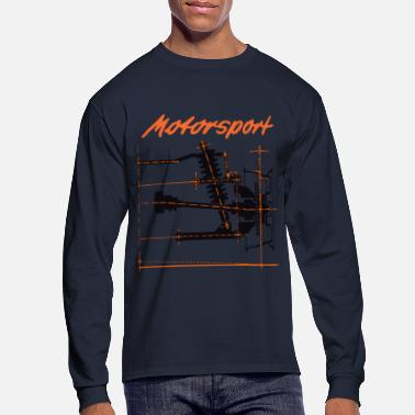 Motorsport motorsport shirt - Men's Long Sleeve T-Shirt