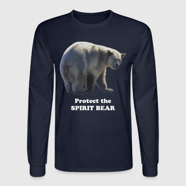 Spirit Bear TS 3 - Men's Long Sleeve T-Shirt