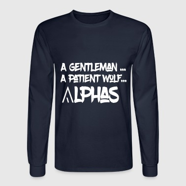 A GENTLEMAN - Men's Long Sleeve T-Shirt