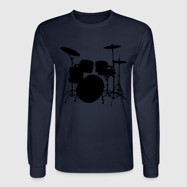 Drums Drumkit - Men's Long Sleeve T-Shirt
