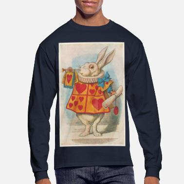 Alice In Wonderland The White Rabbit - Men's Long Sleeve T-Shirt