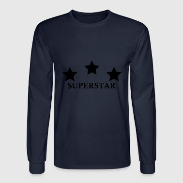 Superstar SUPERSTAR - Men's Long Sleeve T-Shirt