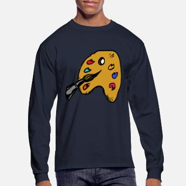 Painting paint - Men's Long Sleeve T-Shirt
