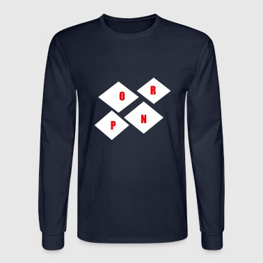PORN - Men's Long Sleeve T-Shirt