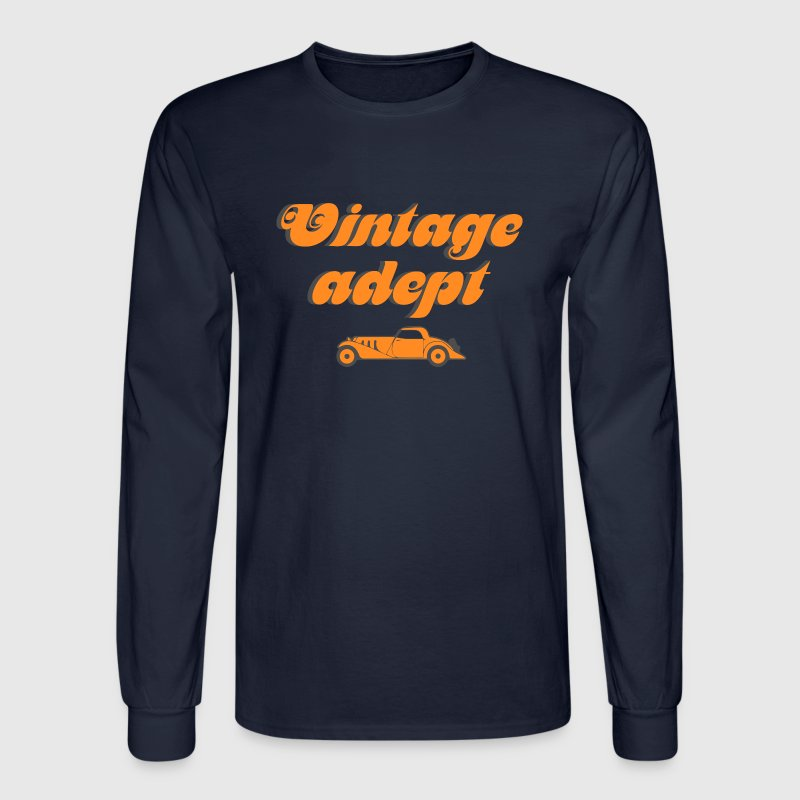 Vintage cars adept - Men's Long Sleeve T-Shirt