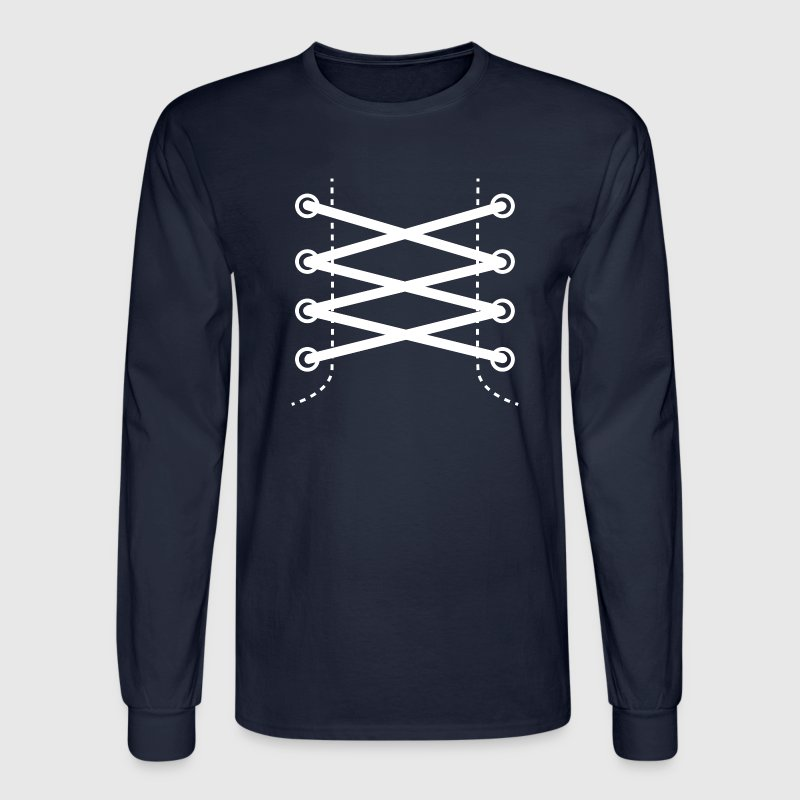 Shoelaces - Men's Long Sleeve T-Shirt