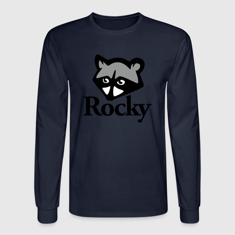 Rocky Racoon - Men's Long Sleeve T-Shirt