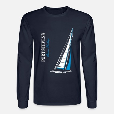Sailingboat Ocean Sailing - Sailingboat - Men's Long Sleeve T-Shirt