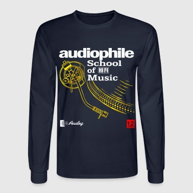 audiophile gold - Men's Long Sleeve T-Shirt
