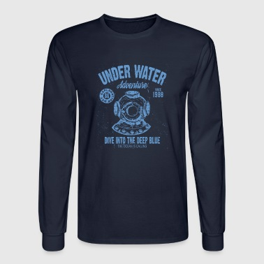 UNDER WATER ADVENTURE - Men's Long Sleeve T-Shirt
