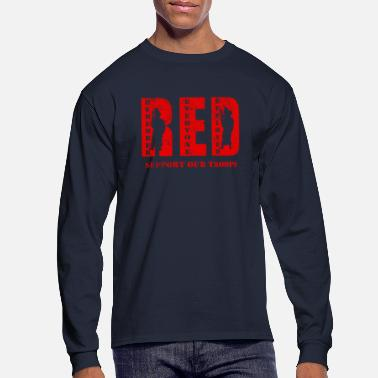 Troops RED Friday Support Our Troops - Men's Longsleeve Shirt