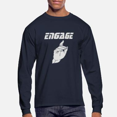 Engagement Engage - Men's Long Sleeve T-Shirt