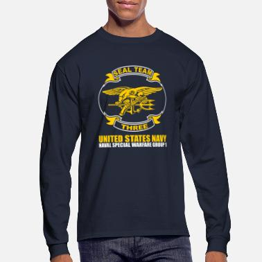 Navy Seals Seals Team 3 - Men's Long Sleeve T-Shirt