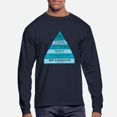 Maslow's Hierarchy - Men's Long Sleeve T-Shirt