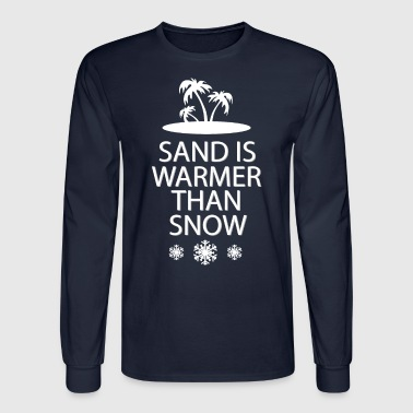 Sand and snow - Men's Long Sleeve T-Shirt