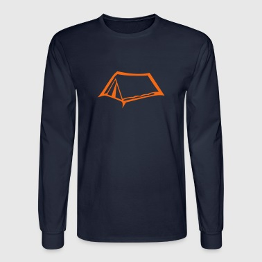 canvas tent camper camping 603 - Men's Long Sleeve T-Shirt