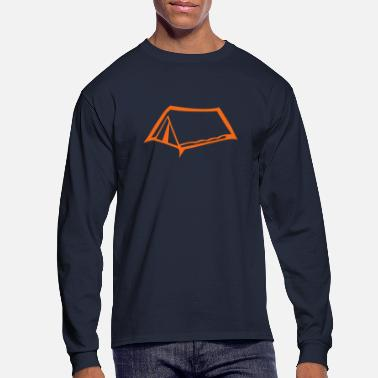 Tent canvas tent camper camping 603 - Men's Long Sleeve T-Shirt