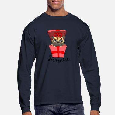 Original pack of lovely pugs 2 - Men's Long Sleeve T-Shirt