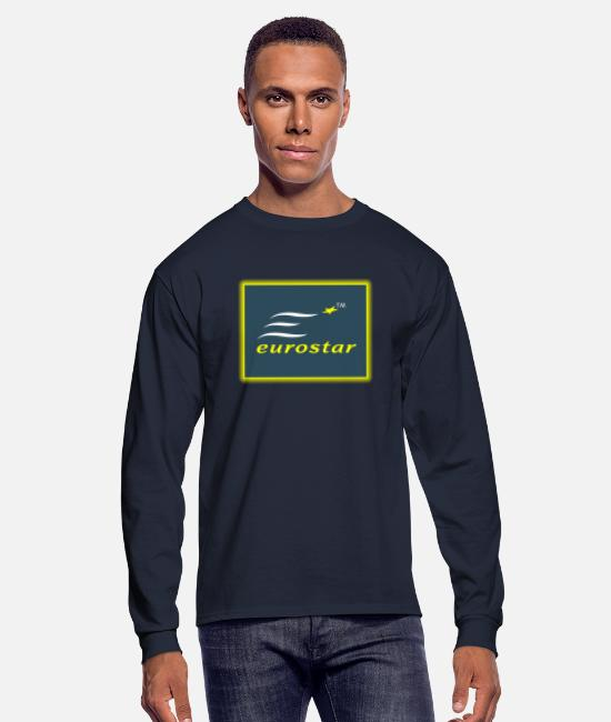 EU Long-Sleeved Shirts - Eurostar - Men's Longsleeve Shirt navy