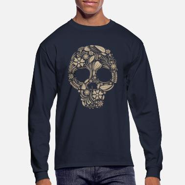 Skull - Men's Longsleeve Shirt