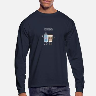 Milk Best Friends - Men's Longsleeve Shirt