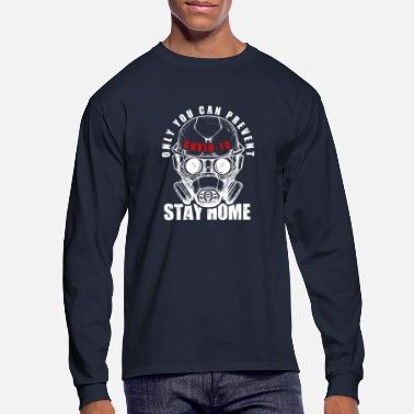 Stay Home - Men's Longsleeve Shirt