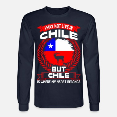ebaf47312 Chile Is Where My Heart Belongs Country Tshirt Men's T-Shirt ...