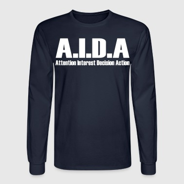 Glengarry Glen Ross | AIDA - Men's Long Sleeve T-Shirt